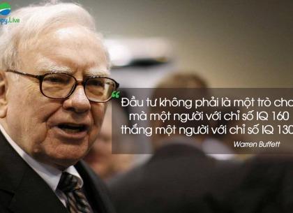 Warren Buffett - Cần IQ bao nhiêu để đầu tư thành công?