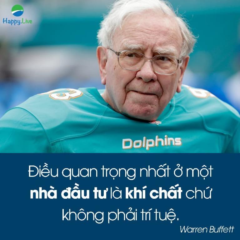 100 câu nói hay nhất của huyền thoại đầu tư Warren Buffett