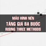 CHỨNG KHOÁN ABC: Mẫu hình nến Tăng giá ba bước (Rising three methods)