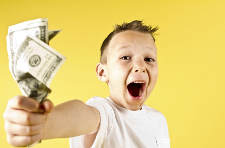 Cách người Mỹ dạy con về tiền