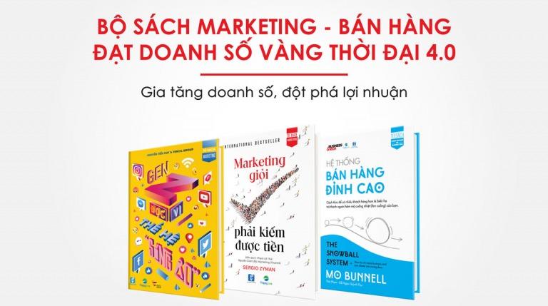 COMBO Tuyệt chiêu Marketing - Bán hàng đạt Doanh Dố Vàng thời đại 4.0