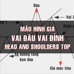 CHỨNG KHOÁN ABC: Mẫu hình giá vai đầu vai đỉnh (Head and shoulders top)