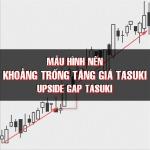 CHỨNG KHOÁN ABC: Mẫu hình nến khoảng trống tăng giá Tasuki (Upside gap Tasuki)