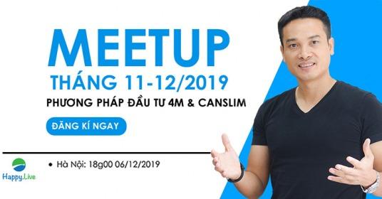 Meetup Tháng 12/2019 - Cộng đồng Happy Live Hà Nội
