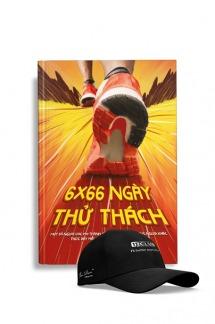 Sổ tay thực hành 6x66 Ngày Thử Thách (Phiên bản đặc biệt giới hạn) + Mũ 1% Club Việt Nam