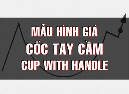 CHỨNG KHOÁN ABC: Mẫu hình giá cốc tay cầm (Cup with handle)