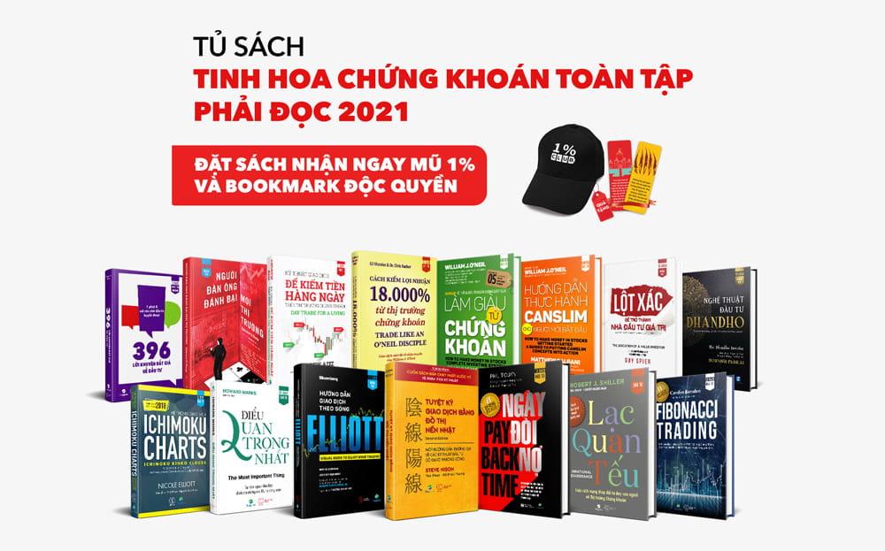 Tủ sách Tinh hoa chứng khoán toàn tập phải đọc 2021