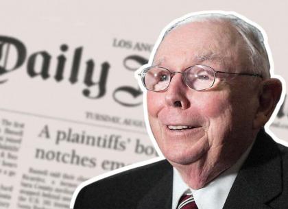5 bài học đắt giá của huyền thoại Charlie Munger tại cuộc họp cổ đông của Daily Journal
