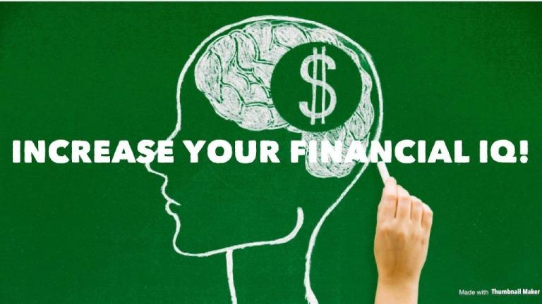 Muốn kiếm tiền hãy nâng cao IQ tài chính của bạn