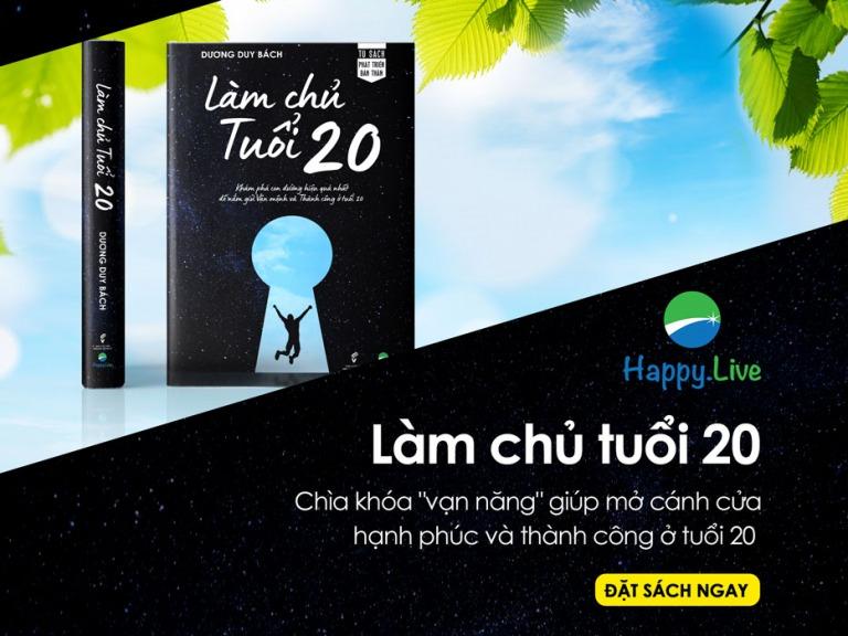 Sách Làm chủ tuổi 20 Bộ sách Thiết kế cuộc đời thịnh vượng