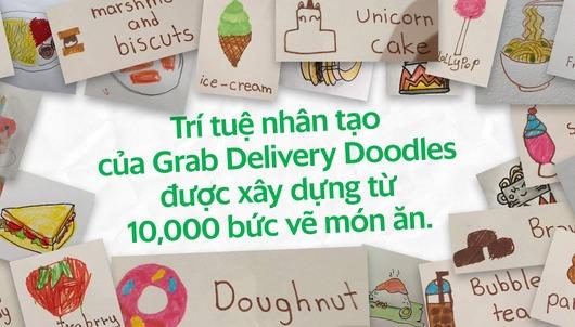 Delivery Doodles: cách tiếp cận mới của trí tuệ nhân tạo giữa Grabfood và Google