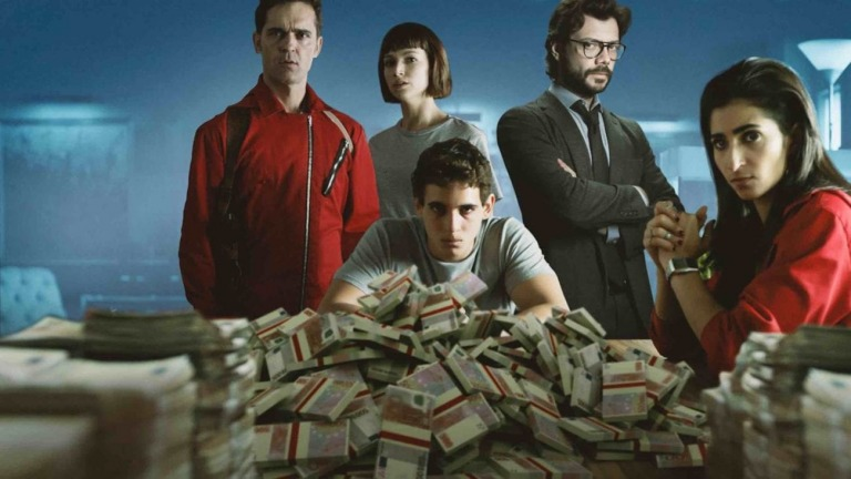Money Heist - Hiện tượng toàn cầu và 8 bài học kinh doanh nên đọc