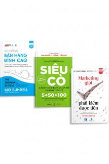 Bộ sách Đỉnh cao Marketing, Bán hàng, Kết nối thời đại số