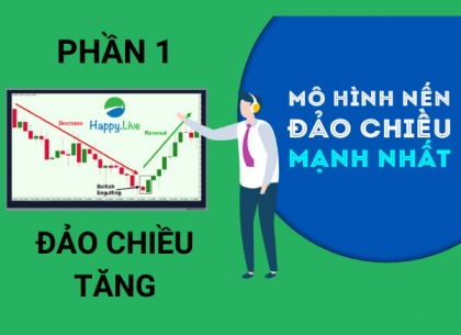 TOP 6 mô hình nến Nhật ĐẢO CHIỀU TĂNG thường gặp trên thị trường chứng khoán
