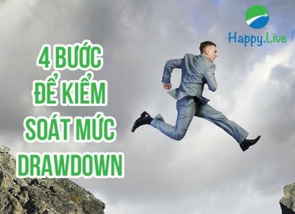 4 Bước để kiểm soát mức Drawdown trong trading