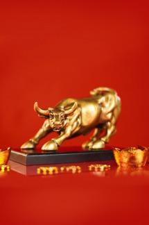 Cặp Bò Vàng Phố Wall Lộc Phát - Thịnh Vượng Khai Thông Hảo Vận PRE ORDER