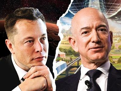 Elon Musk vs Jeff Bezos: Đại chiến vệ tinh vũ trụ giữa 2 người giàu nhất thế giới