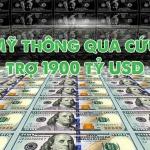 Ủy ban Ngân sách Hạ viện Mỹ thông qua dự luật cứu trợ 1900 tỷ USD