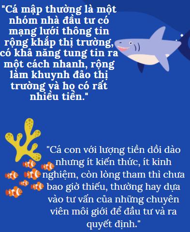 Chuyện Đầu Tư: Làm sao để bầy cá con chiến thắng cá mập?