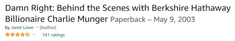 Damn right! - Vén màn bí ẩn về tỷ phú Charlie Munger cánh tay phải của Warren Buffett
