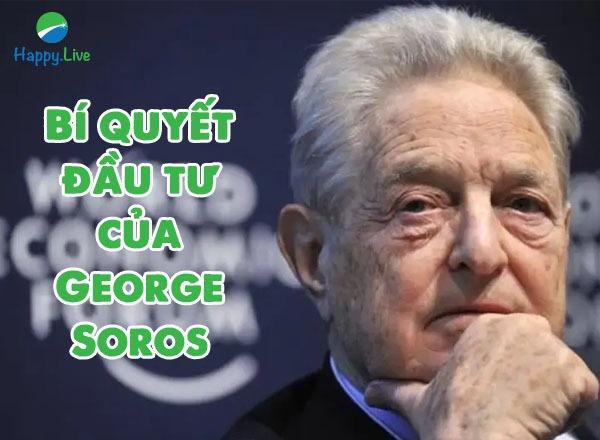 Bí quyết đầu tư của George Soros